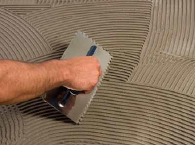 Плиточный клей для наружных работ – описываем технологию применения