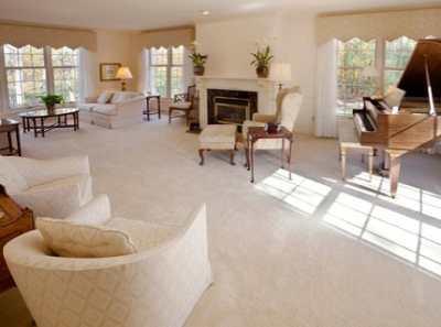Ковер в гостиную – материал, размер и цвет имеют значение