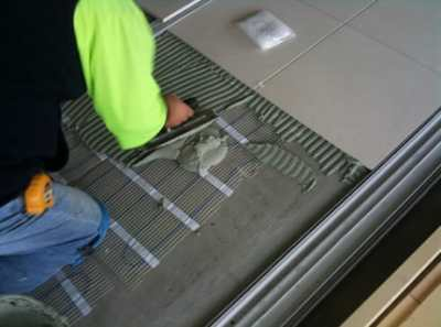 Плиточный клей для теплого пола – температура имеет значение!