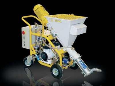 Машина для штукатурки, как наиболее быстрый и экономный способ нанесения покрытия