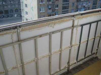 Утепление балкона изнутри или как сделать рабочий кабинет?
