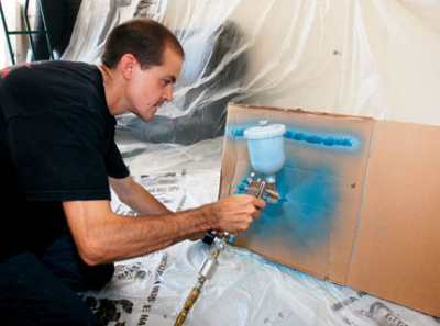 Краскопульт ручной – как облегчить себе покрасочные работы?