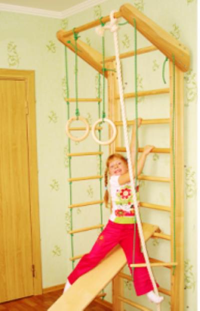 Как купить хорошую спортивную детскую стенку для дома