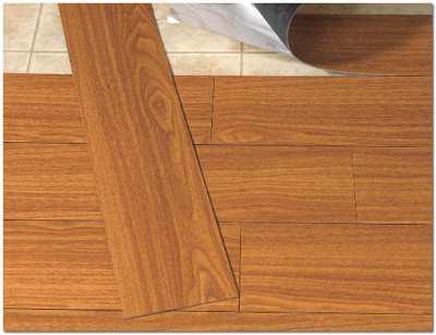 Виниловая плитка - современное покрытие для пола